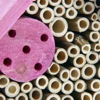 Pet Ting Small Pink Wooden Insect Hotel